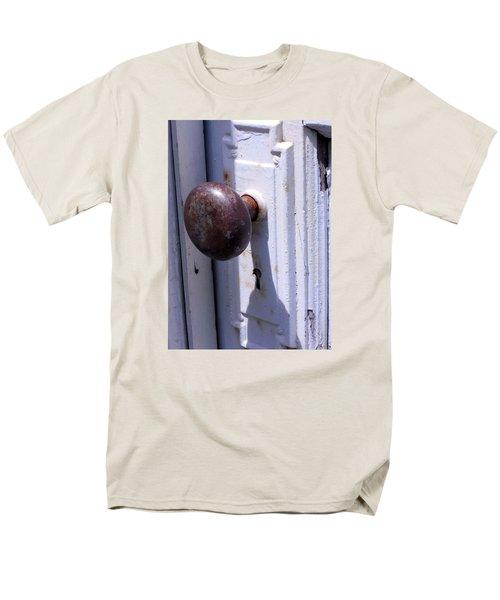 Keyhole Men's T-Shirt  (Regular Fit) by Steve Godleski