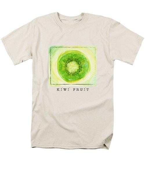 Kiwi Fruit Men's T-Shirt  (Regular Fit) by Kathleen Wong