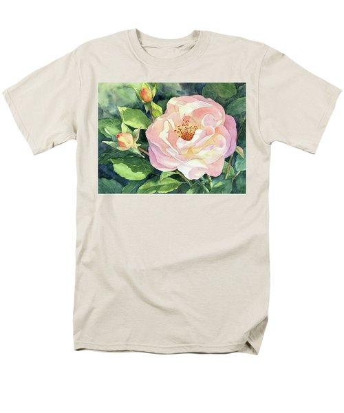 Knockout Rose And Buds Men's T-Shirt  (Regular Fit)