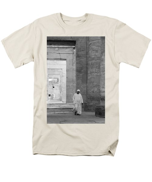 Kom Ombo Temple Men's T-Shirt  (Regular Fit) by Silvia Bruno