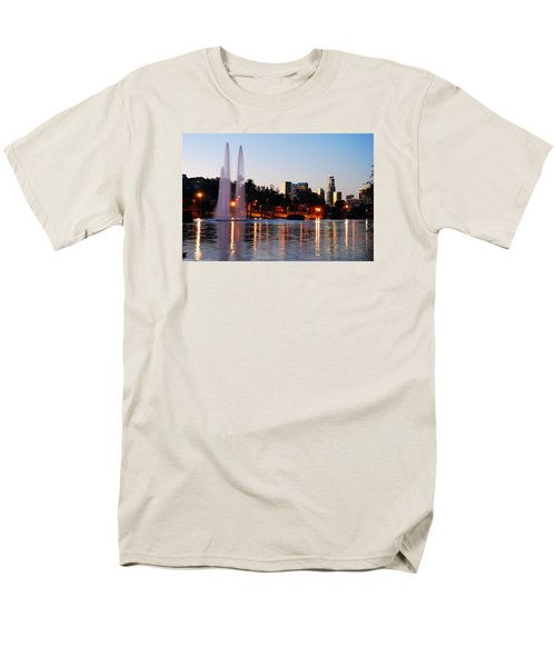 Men's T-Shirt  (Regular Fit) featuring the photograph La From Echo Lake by James Kirkikis