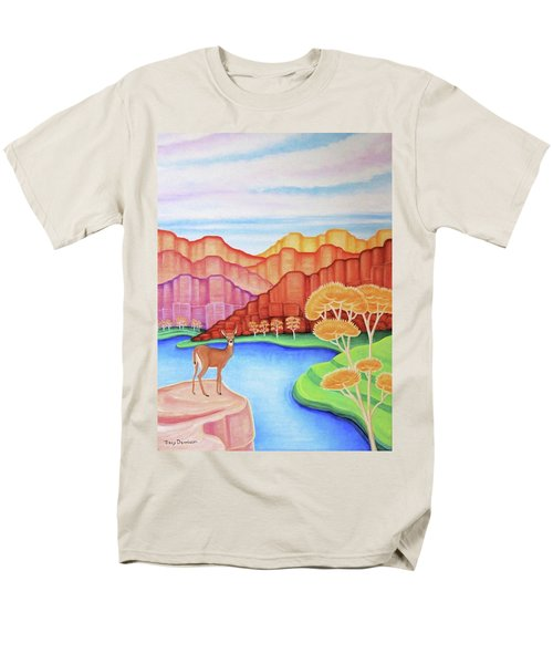 Land Of Enchantment Men's T-Shirt  (Regular Fit) by Tracy Dennison