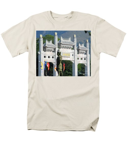 Men's T-Shirt  (Regular Fit) featuring the photograph Lantau Island 51 by Randall Weidner