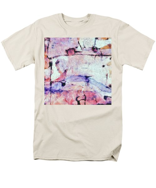 Men's T-Shirt  (Regular Fit) featuring the painting Laredo by Dominic Piperata