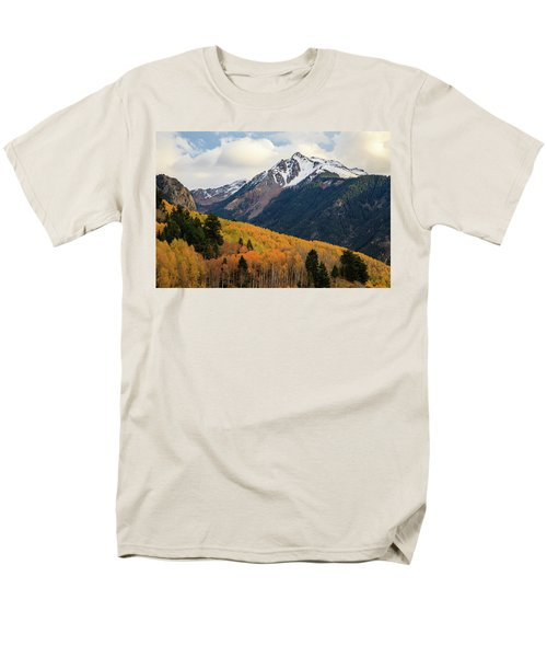 Last Light Of Autumn Men's T-Shirt  (Regular Fit) by David Chandler