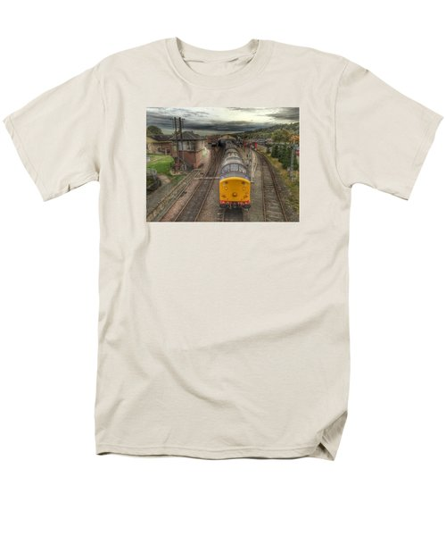Men's T-Shirt  (Regular Fit) featuring the photograph Last Train To Manuel by RKAB Works