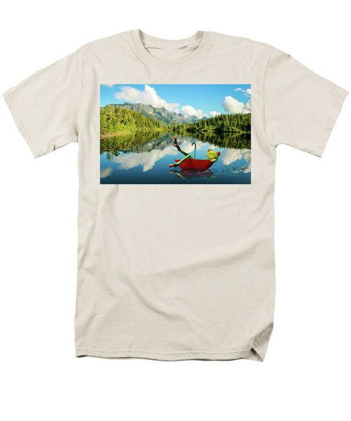Men's T-Shirt  (Regular Fit) featuring the digital art Lazy Days by Nathan Wright