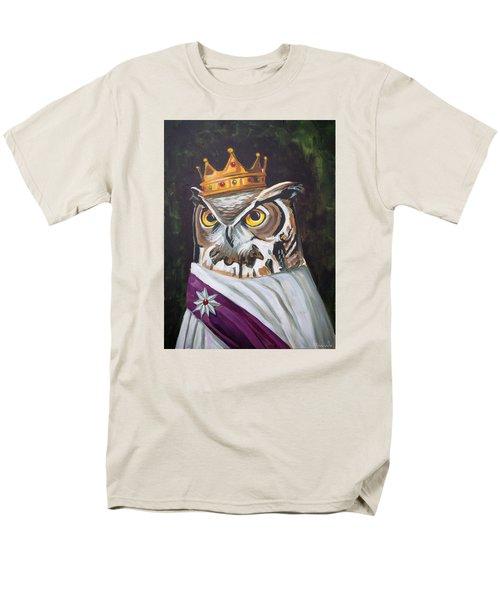 Le Royal Owl Men's T-Shirt  (Regular Fit) by Nathan Rhoads