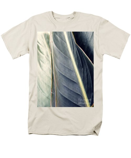 Leaf Abstract 14 Men's T-Shirt  (Regular Fit) by Sarah Loft