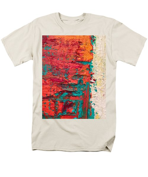 Learning Curve One Men's T-Shirt  (Regular Fit) by Heather Roddy