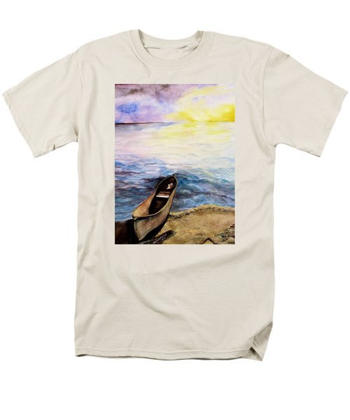 Men's T-Shirt  (Regular Fit) featuring the painting Left Alone by Lil Taylor
