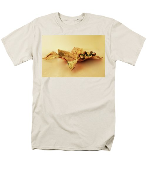 Leaf Plate 1 Men's T-Shirt  (Regular Fit) by Itzhak Richter