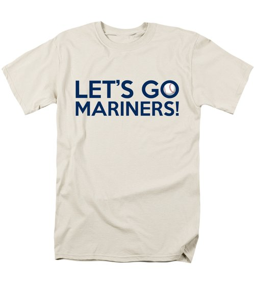 Let's Go Mariners Men's T-Shirt  (Regular Fit) by Florian Rodarte