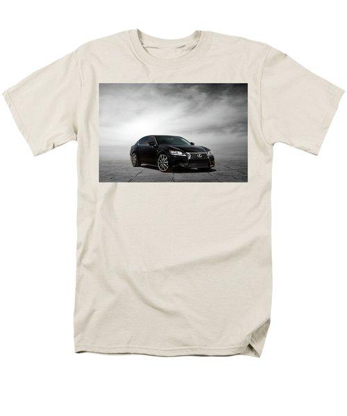 Men's T-Shirt  (Regular Fit) featuring the digital art Lexus Gs350 F Sport by Peter Chilelli