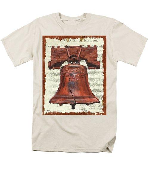 Life And Liberty Men's T-Shirt  (Regular Fit) by Debbie DeWitt