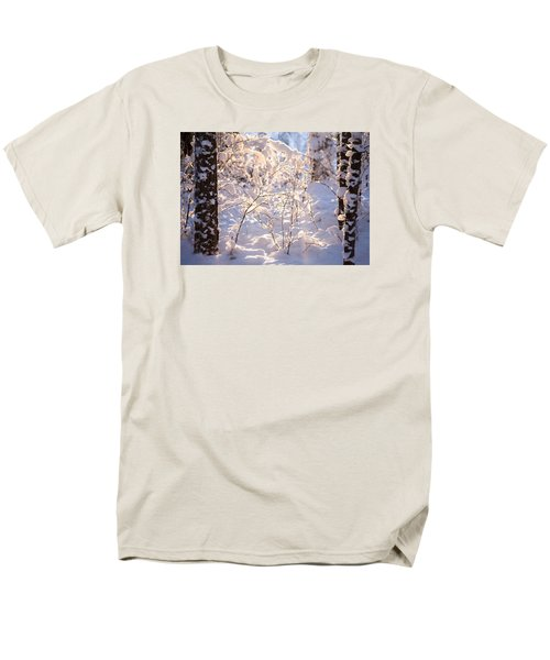 Men's T-Shirt  (Regular Fit) featuring the photograph Light Of Winter by Rose-Maries Pictures