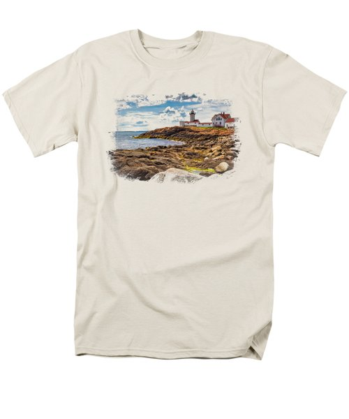 Light On The Sea Men's T-Shirt  (Regular Fit) by John M Bailey