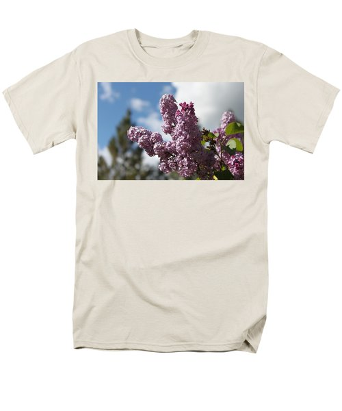 Men's T-Shirt  (Regular Fit) featuring the photograph Lilacs 5547 by Antonio Romero