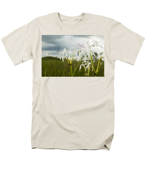 Lilies Thunder Men's T-Shirt  (Regular Fit) by Christopher L Thomley