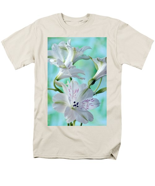 Lily Of The Incas Men's T-Shirt  (Regular Fit) by Terence Davis