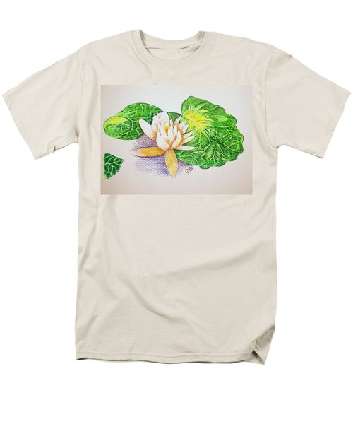 Lily Pad Men's T-Shirt  (Regular Fit) by J R Seymour