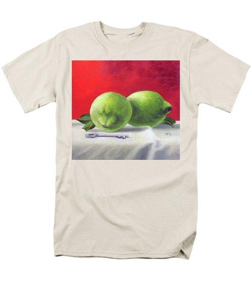 Limes Men's T-Shirt  (Regular Fit) by Tim Johnson