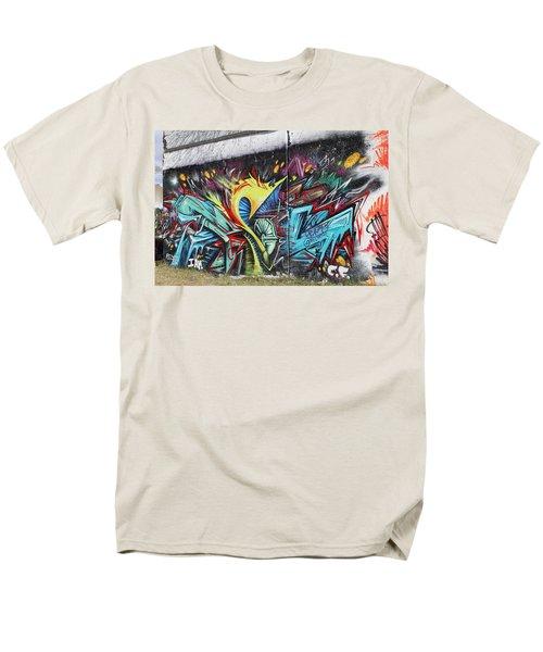 Lincoln Street Men's T-Shirt  (Regular Fit) by Sheila Mcdonald