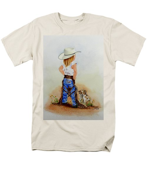Little Miss Big Britches Men's T-Shirt  (Regular Fit) by Jimmy Smith