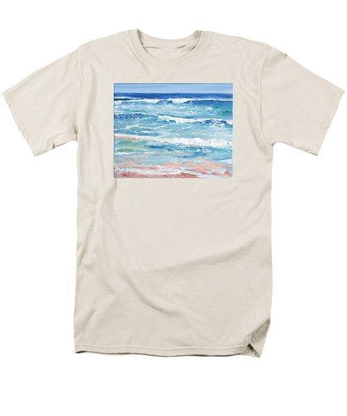 Little Riptides Men's T-Shirt  (Regular Fit) by Trina Teele