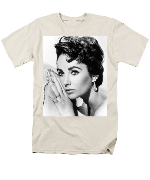 Liz Taylor Men's T-Shirt  (Regular Fit) by American School