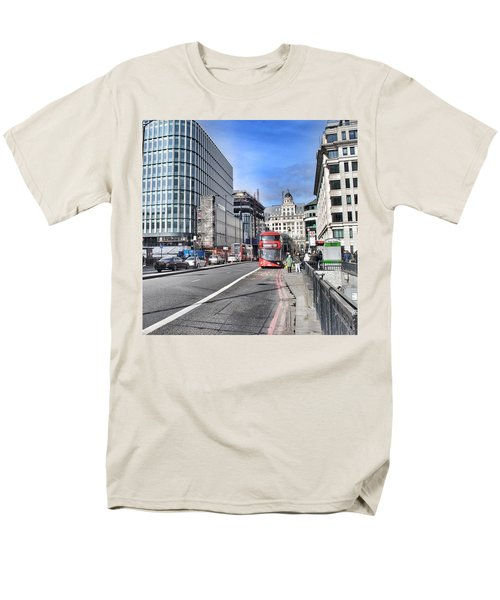 London City Men's T-Shirt  (Regular Fit)