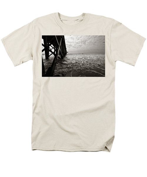 Men's T-Shirt  (Regular Fit) featuring the photograph Long To Surf by David Sutton