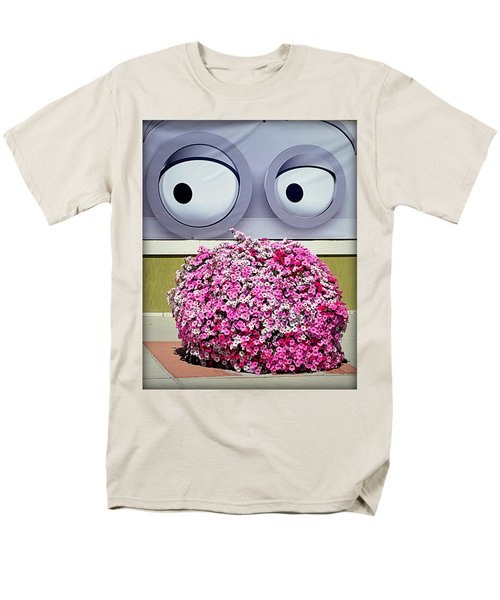 Look At Those Flowers Men's T-Shirt  (Regular Fit) by AJ Schibig