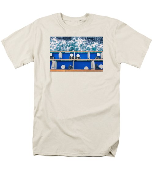 Looking Down At Sea Men's T-Shirt  (Regular Fit) by Lewis Mann