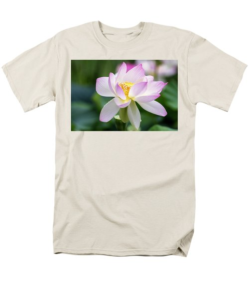 Men's T-Shirt  (Regular Fit) featuring the photograph Lotus by Edward Kreis