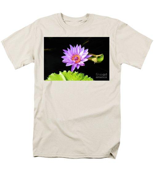 Lotus Splendor Men's T-Shirt  (Regular Fit) by Deborah Crew-Johnson