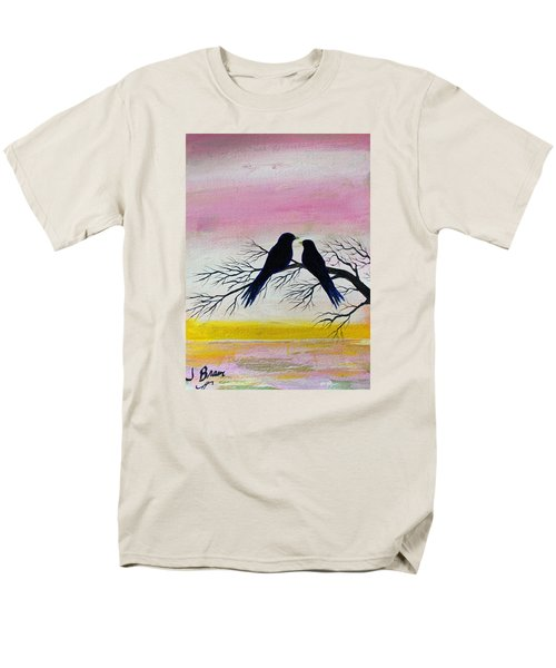 Love Birds Men's T-Shirt  (Regular Fit) by Jack G  Brauer