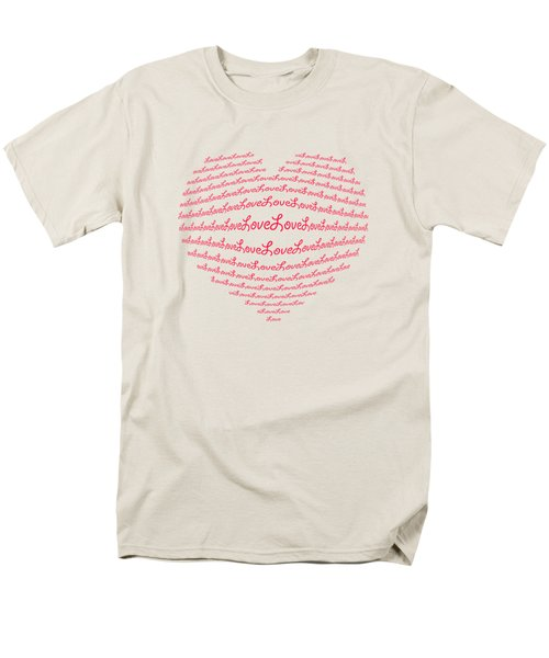 Love Boom Men's T-Shirt  (Regular Fit) by Scott Carruthers