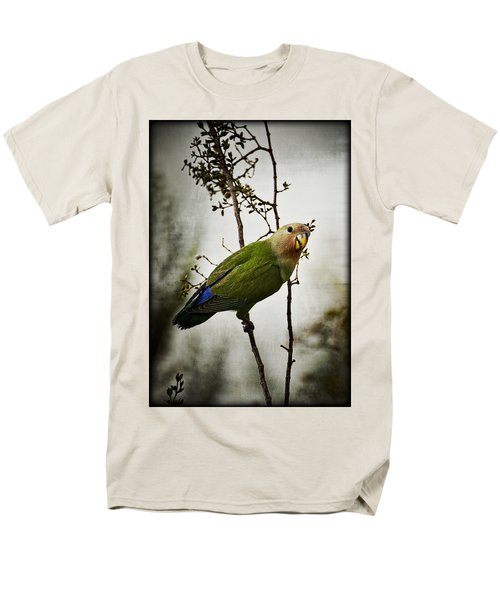 Lovebird  Men's T-Shirt  (Regular Fit) by Saija  Lehtonen