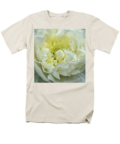 Men's T-Shirt  (Regular Fit) featuring the photograph Lovely Peony by Sandy Keeton