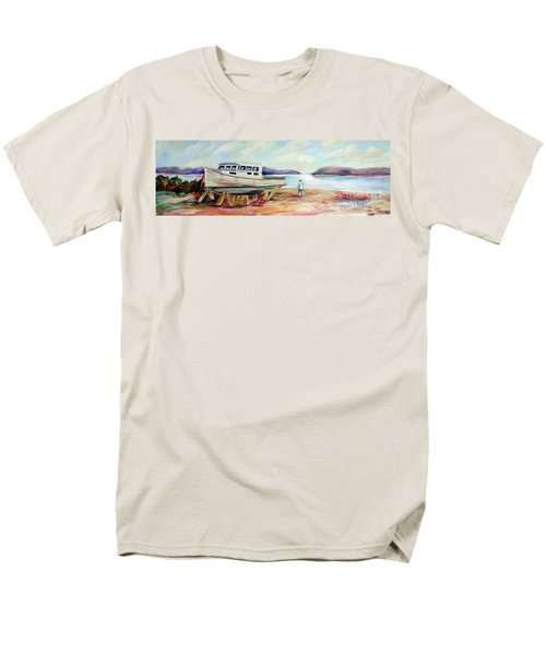 Men's T-Shirt  (Regular Fit) featuring the painting Lovie by Patricia Piffath