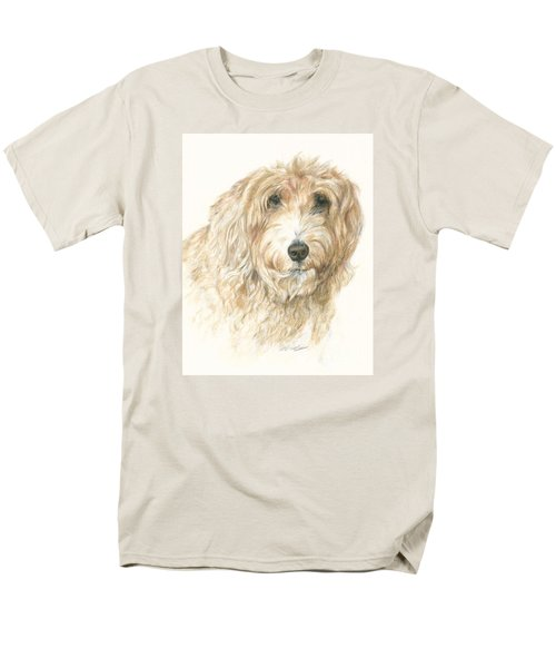 Men's T-Shirt  (Regular Fit) featuring the drawing Lucy by Meagan  Visser