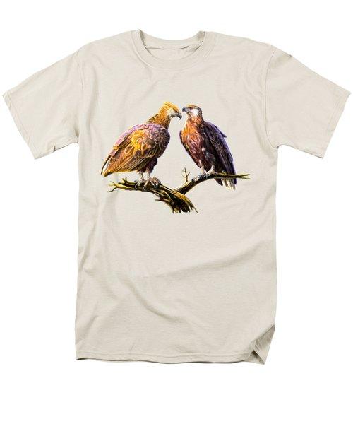 Madagascar Fish Eagle  Men's T-Shirt  (Regular Fit) by Anthony Mwangi