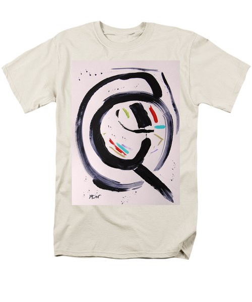 Men's T-Shirt  (Regular Fit) featuring the painting Magnifying by Mary Carol Williams