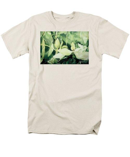 Men's T-Shirt  (Regular Fit) featuring the painting Magnolium Opus by Elizabeth Carr