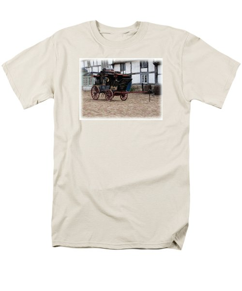 Mail Coach At Lacock Men's T-Shirt  (Regular Fit) by Paul Gulliver