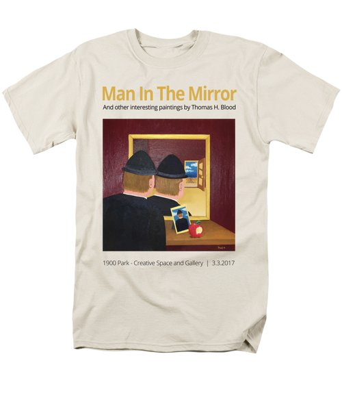 Man In The Mirror T-shirt Men's T-Shirt  (Regular Fit) by Thomas Blood