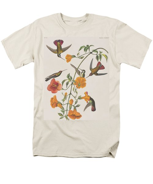 Mango Humming Bird Men's T-Shirt  (Regular Fit) by John James Audubon