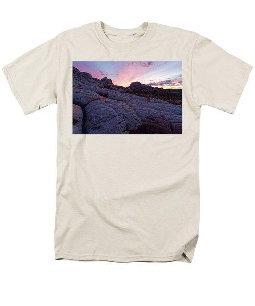 Man's Best Friend Sunset Men's T-Shirt  (Regular Fit) by Jonathan Davison