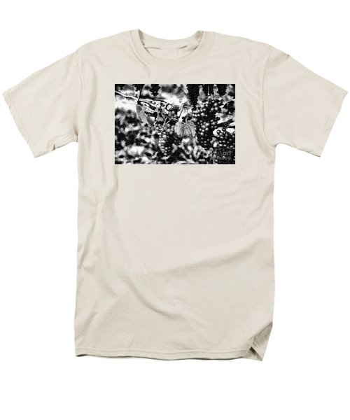 Men's T-Shirt  (Regular Fit) featuring the photograph Many Grapes by Rick Bragan